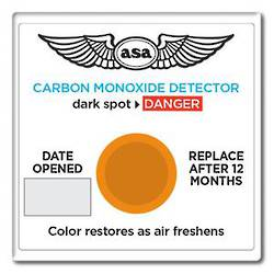 ASA CO-D  Carbon Monoxide Detector Patch