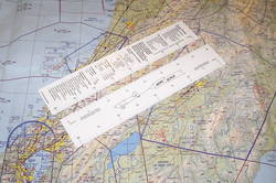 Navigation Ruler - Aeroscale - White 3-scale
