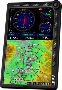 Avmap EKP-V GPS Aeronatical Navigator - Colour