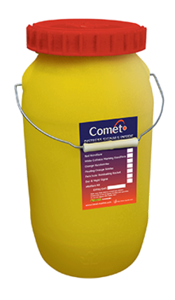 Flare Polybottle - SOLAS 12L Capacity For Bridge and Lifeboat