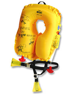 EAM INV20L8 Infant Aviation Inflatable Lifejacket children under 16kg ; 10 Year Service. P0640-201W