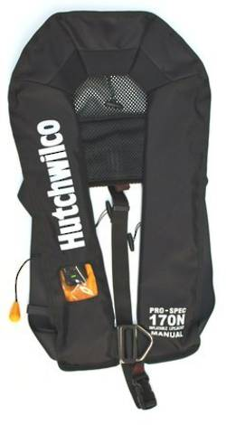 HW Pro-Spec 170N Manual Lifejacket With Harness  - Black