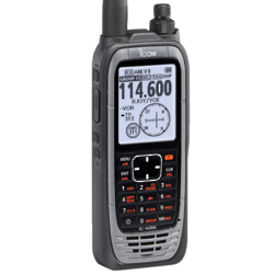 ICOM IC-A25NE VHF Handheld Air Band Nav/Com Trancsceiver with GPS and Bluetooth