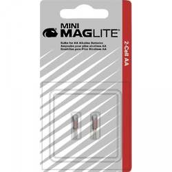 Mini-Maglite Replacement Xenon Bulbs - 2 per pack (AA series) LM2A001L