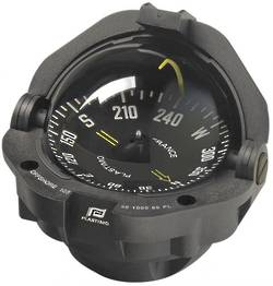 Plastimo Offshore 105 Flush Mount Compass - Black Flat Card 19427
