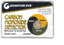 CO (Carbon Monoxide) detector -18mth -Quantum Eye - (Temporarily Unavailable)