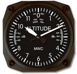Trintec Aviator Wall Clock 16.5cm   - Altimeter Dial (6060)
