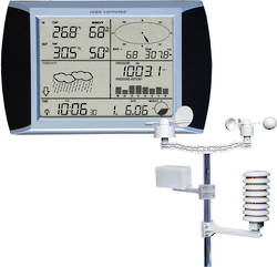 Tesa Wireless Weather Pro Station with Touch Screen  and USB Connection- WS1081 Ver3