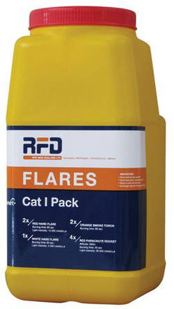 Yachting NZ Cat 1 Distress Flare Pack