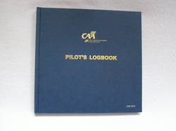 Pilot Log Book - Hard Cover - New Zealand CAA 1373