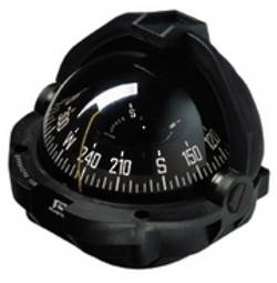 Plastimo Offshore 105 Flush Mount Compass - Black edge read card 19439
