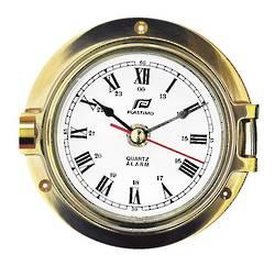 "Plastimo Marine Clock,4.5"" Brass 29043"