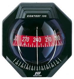 Plastimo Contest 130 Bulkhead Compass - Black 19299