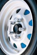 McGard Trailer Wheel Locks & Matching Lug Nuts 24132