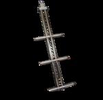 TRBDS3 DIXON S/S TELESCOPIC THREE STEP LADDER