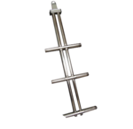 TRBDS2 DIXON S/S TELESCOPIC TWO STEP LADDER