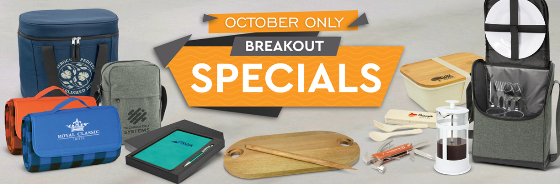 Promotional Products Breakout Specials