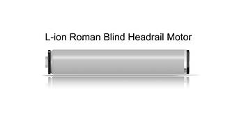 L-ion series Motorised Roman Blind Headrail