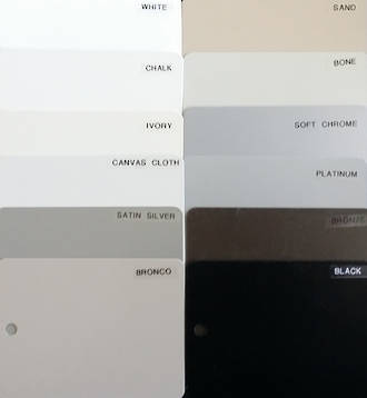 Eurotrac / Keltic Colour Swatch