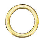 Brass Rings (200 per box)