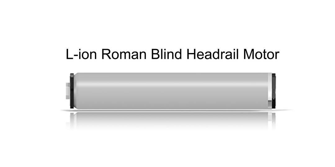 L Ion Series Motorised Roman Blind Headrail Motorised