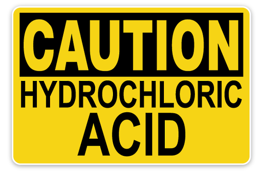 HYDROCHLORIC ACID 33% 5 LITRES