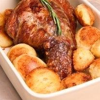 Lamb Leg Roast Netted