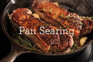 pan searing