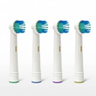 Stella White Universal Brush Heads - 4pcs