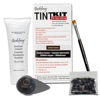 Godefroy Eyebrow Tint Kit - Medium Brown