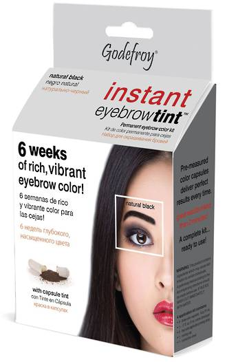 Godefroy Instant Eyebrow Tint - Natural Black