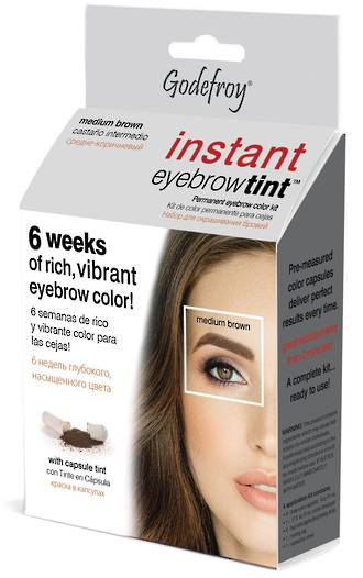 Godefroy Instant Eyebrow Tint - Medium Brown