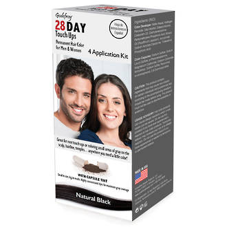 Godefroy 28 Day Touch Ups Hair Color - Natural Black