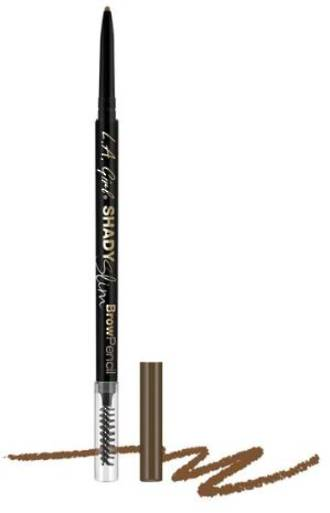 LA Girl Shady Slim Brow Pencil - Soft Brown