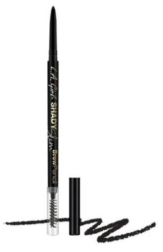 LA Girl Shady Slim Brow Pencil - Black