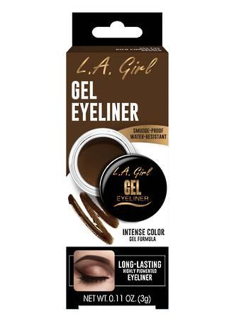 LA Girl Gel Eyeliner - Rich Chocolate Brown