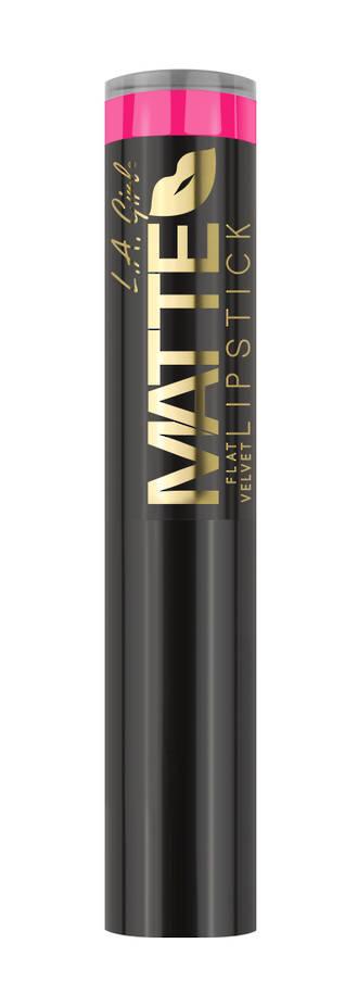 LA Girl Matte Flat Velvet Lipstick - Electric