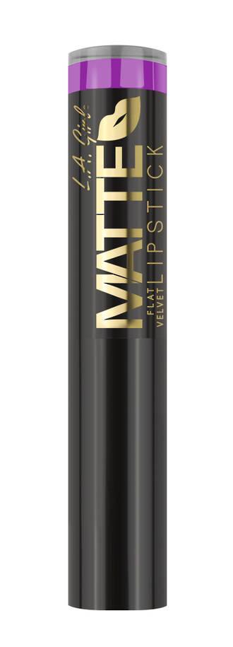 LA Girl Matte Flat Velvet Lipstick - Giggle