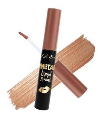 LA Girl Metal Liquid Lipstick - Champagne