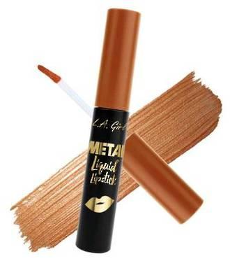LA Girl Metal Liquid Lipstick - Golden