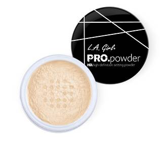 LA Girl HD PRO Setting Powder - Banana Yellow