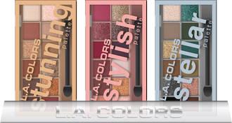 L.A. Colors Holiday Set - 12-Color Eyeshadow Palette 12pcs