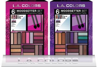 L.A. Colors Holiday Set - Moodsetter Eye Makeup Set 8pcs