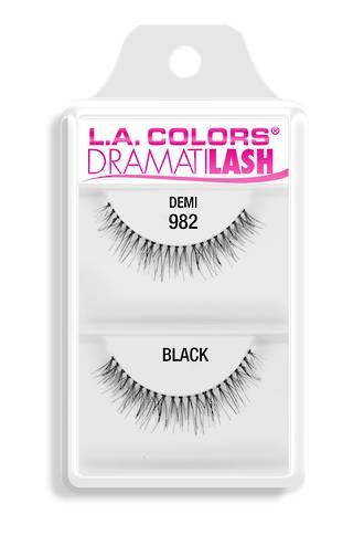 LA Colors Eye Lashes - Demi