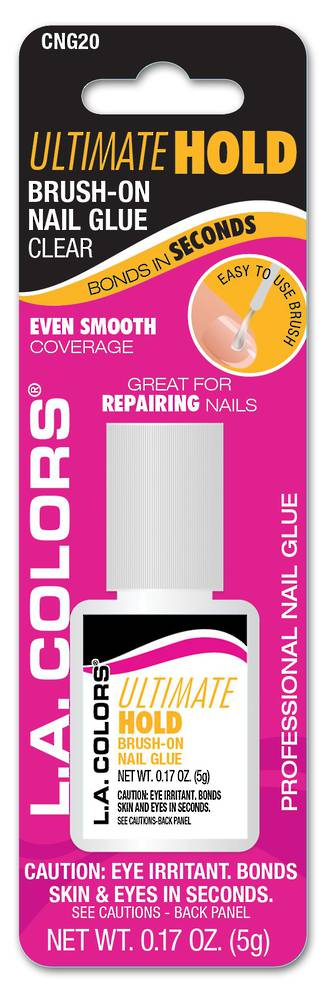 LA Colors Ultimate Hold Brush on Nail Glue - Clear