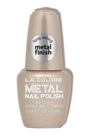 LA Colors Metal Nail Polish - Gold Coin