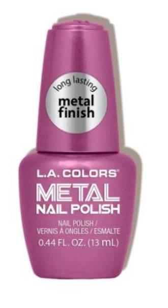 LA Colors Metal Nail Polish - Rose Mimosa