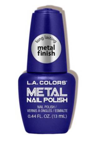 LA Colors Metal Nail Polish - Glacier