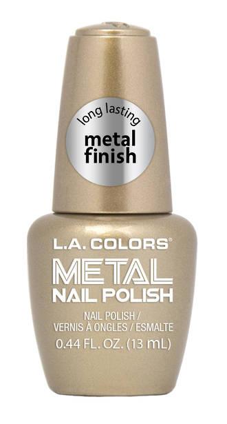 LA Colors Metal Nail Polish - Bubbly