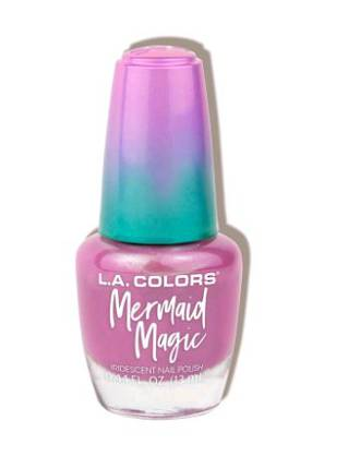 LA Colors Mermaid Magic Nail Polish - Pink Pearl